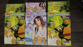 Pegatine cu Violetta si Turtles - imagine cutii