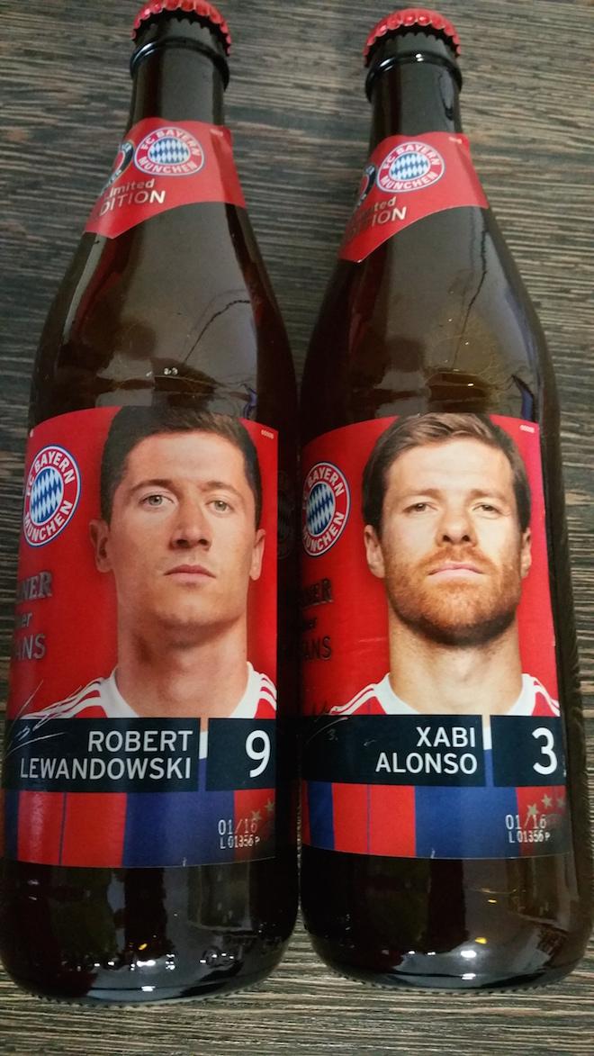 Bere Paulaner de colectie - Editie Limita - FC Bayern Munchen